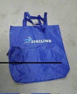 Tekstiilist kott - Sinilind