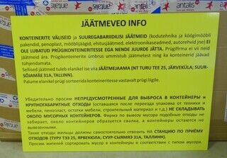 Infosilt - Jäätmeveo info