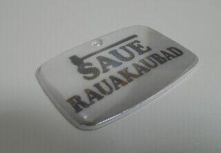 Logoga helkur - Saue rauakaubad