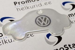 Auton muotoinen VW heijastin