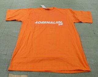 Logotrük T-särgil Adrenaliin