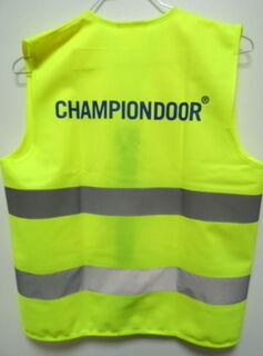 Kollane hekurvest Championdoor