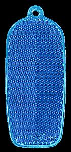 Reflector phone 32x78mm blue
