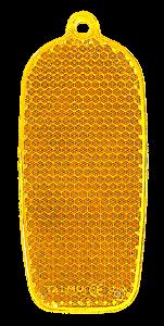 Reflector phone 32x78mm orange