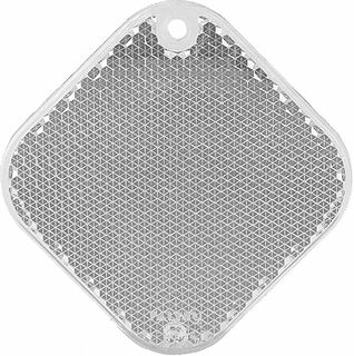 Reflector square 63x63mm clear
