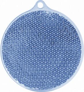Reflector round 55x61mm blue